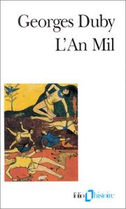 Cover of: L' an mil