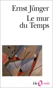 Cover of: Le mur du temps