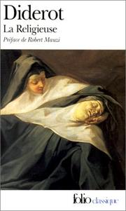 Cover of: La Religieuse