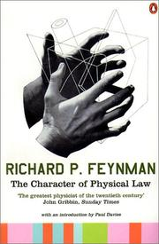 Cover of: The Character of Physical Law