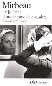 Cover of: The diary of a chambermaid