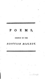 The complete poetical works by Robert Burns