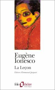 Cover of: La Lecon