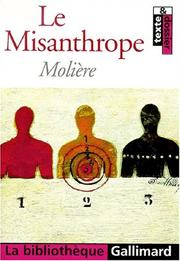 Cover of: Le Misanthrope by Molière