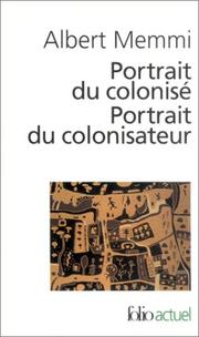 Cover of: Portrait Du Colonise, Portrait Du Colonisateur