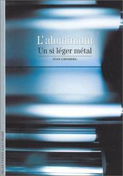 Cover of: L'Aluminium