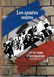 Cover of: Les Annees Noires (The Dark Years)