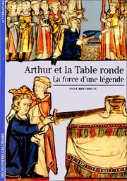 Cover of: Arthur et la Table ronde