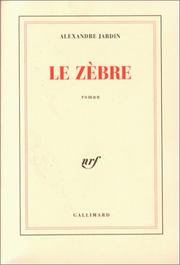Cover of: Le zèbre