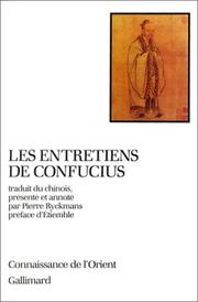 Cover of: Les entretiens