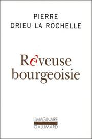 Cover of: Rêveuse bourgeoisie
