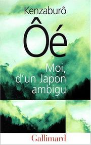Cover of: Moi, d'un Japon ambigu