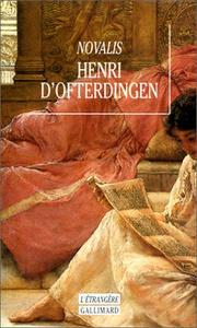 Cover of: Henri d'Ofterdingen