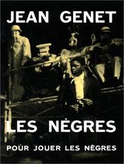 Cover of: Les nègres