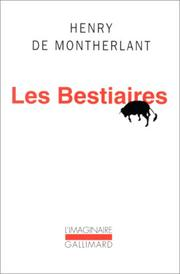 Cover of: Les bestiaires