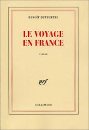 Cover of: Le voyage en France