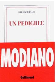 Cover of: Un pedigree