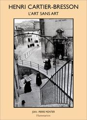 Cover of: Henri Cartier-Bresson