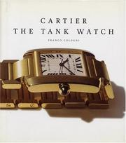 Cover of: Cartier, the tank watch