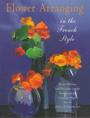 Cover of: Flower arranging in the French style