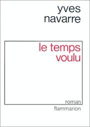Cover of: Le temps voulu