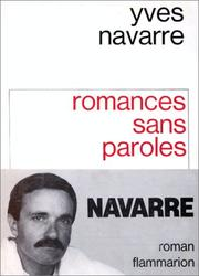 Cover of: Romances sans paroles