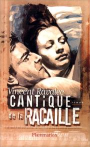 Cover of: Cantique de la racaille