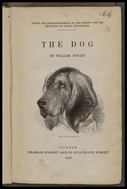 Cover of: The dog by William Youatt