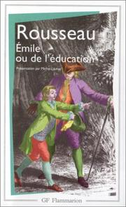 Émile, ou, De léducation