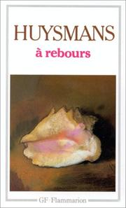 Cover of: A Rebours