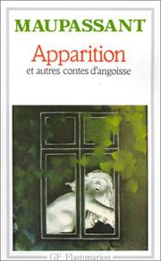 Cover of: Apparition Et Cont Angoiss