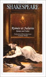 Cover of: Romeo et Juliette | William Shakespeare, William Shakespeare, William Shakespeare, William Shakespeare