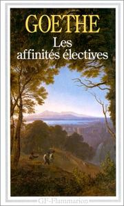 Cover of: Les affinite s e lectives