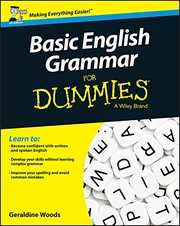 Cover of: Basic English Grammar For Dummies - UK