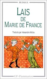 Cover of: Lais De Marie De France