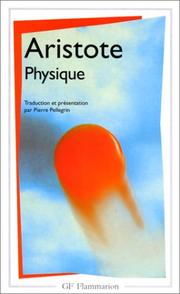 Cover of: Physics by Aristotle