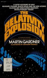 The relativity explosion
