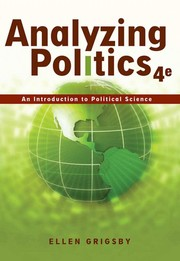 Cover of: Analyzing Politics | Ellen Grigsby