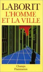 Cover of: L' Homme et la ville