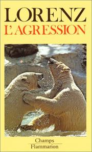 Cover of: L'agression