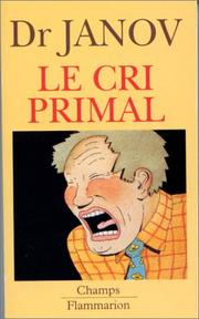 Cover of: Le Cri primal