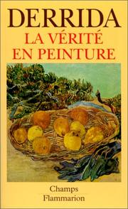 Cover of: La\Verite en Peinture