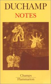 Cover of: Notes