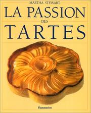 Cover of: La Passion Des Tartes