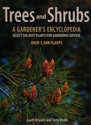 Cover of: Trees and shrubs | Geoff Bryant