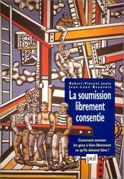Cover of: La soumission librement consentie