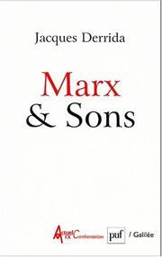 Cover of: Marx & Sons