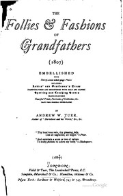 The follies and fashions of our grandfathers (1807)