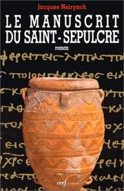 Cover of: Le Manuscrit du Saint-Sépulcre