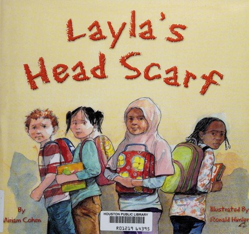 Layla's head scarf by Miriam Cohen